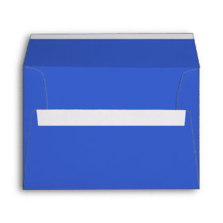 Royal Blue Solid Color Envelopes