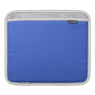 Royal Blue Solid Color iPad Sleeves