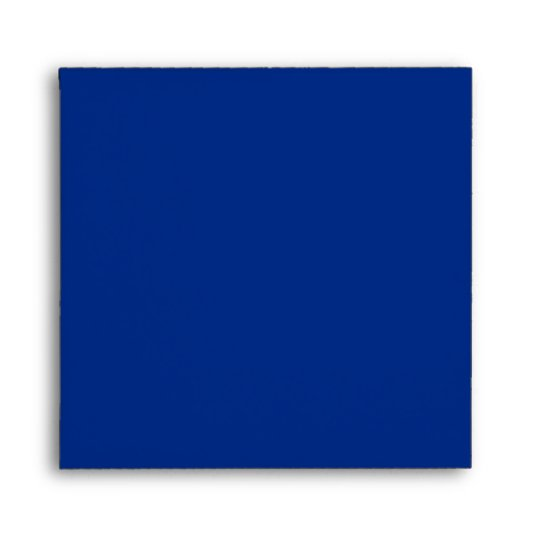 Royal Blue Square Envelopes | Zazzle