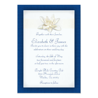 royal blue wedding invitations & announcements | zazzle, Wedding invitations