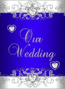 Royal Blue Wedding Invitations | Zazzle
