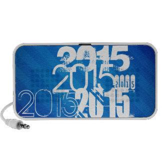 Royal Blue & White Class of 2015 Portable Speaker