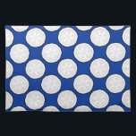 "Royal Blue &amp; White Designer Placemat Gift<br><div class=""desc"">Royal blue &amp; white designer placemat artistic gift made in the USA &amp; a beautiful house warming gift or one of a kind hostess present from zazzle.com/americanmademojo*</div>"