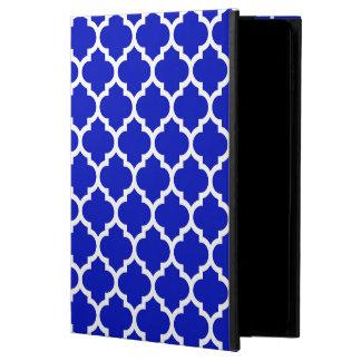 Royal Blue White Moroccan Quatrefoil Pattern #5 Powis iPad Air 2 Case