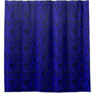 royal blue shower curtain. Royal Blue Zebra Stripes Shower Curtain Curtains  Zazzle