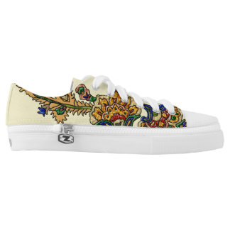 Royal Boho Gems Low-Top Sneakers