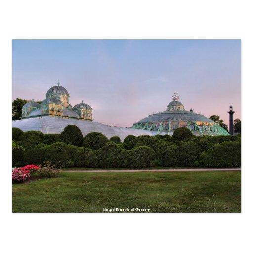 Royal Botanical Garden Postcard