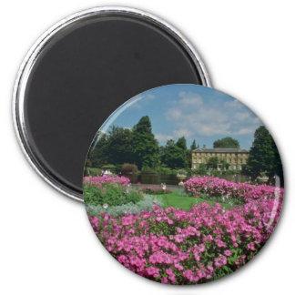 Royal Botanical Gardens at Kew, London, Englan 2 Inch Round Magnet