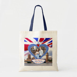 Royal British Baby Prince George Tote Bag