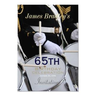 Royal British Band 65th Birthday Celebration Card