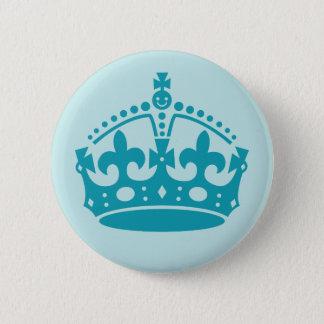 Royal British Crown Pinback Button