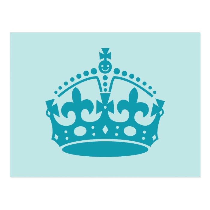 Royal British Crown Postcard