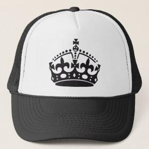 royal British crown Trucker Hat b3a17e91c56c