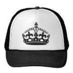 royal British crown Trucker Hat