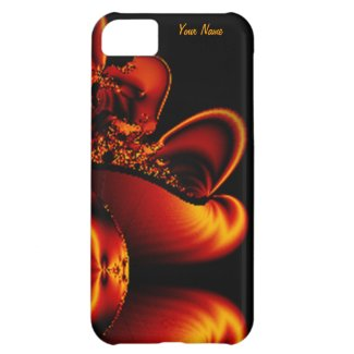 Royal Bronze Fractal iPhone 5 Case