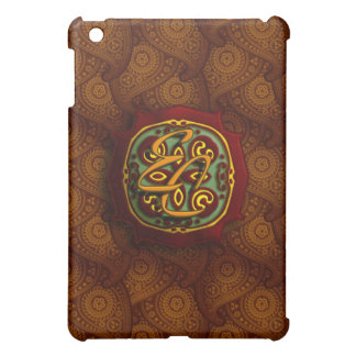 Royal Brown Paisley Case For The iPad Mini