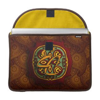 Royal Brown Paisley MacBook Pro Sleeve