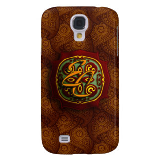 Royal Brown Paisley Samsung S4 Case