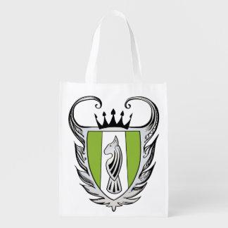 Royal Bull Terrier Grocery Bag