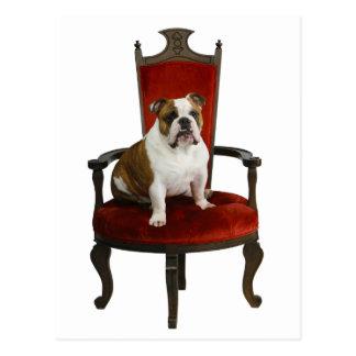 Royal Bulldog Postcard