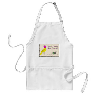 Royal Canary Pest Control Adult Apron