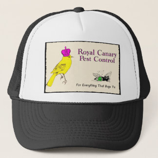 Royal Canary Pest Control Trucker Hat
