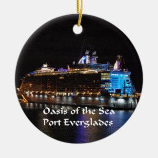Royal Caribbean Oasis of the Seas Ceramic Ornament