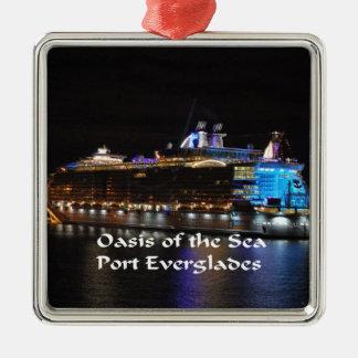 Royal Caribbean Oasis of the Seas Metal Ornament