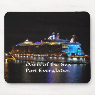 Royal Caribbean Oasis of the Seas Mouse Pad