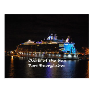 Royal Caribbean Oasis of the Seas Postcard