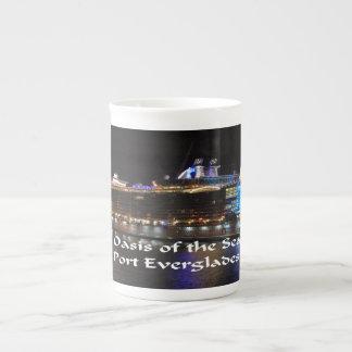 Royal Caribbean Oasis of the Seas Tea Cup