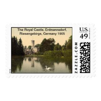 Royal Castle, Erdmannsdorf, Riesengebirge, Germany Stamps