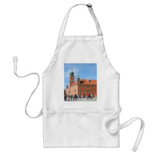 Royal Castle in Warsaw Adult Apron