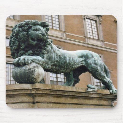 Royal Castle Lion Mousepad
