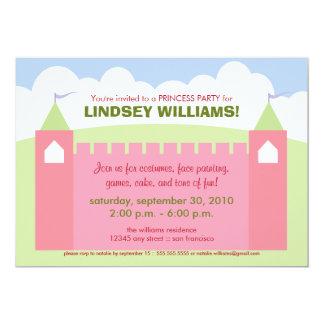 Royal Castle Princess Party Invitation