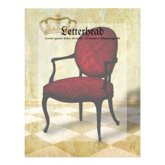 Royal Chair and Crown Letterhead
