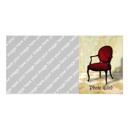 Royal Chair Photo Greeting Card
