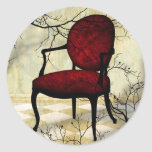 Royal Chair with Branches Stickers