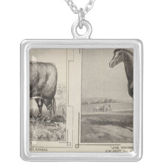 Royal Champion, Joe Young, Kansas Silver Plated Necklace