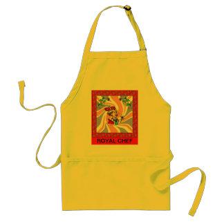 Royal chef adult apron