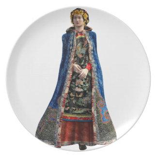 Royal Chinese Princess Dinner Plate