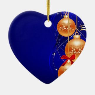 Royal Christmas Ceramic Ornament