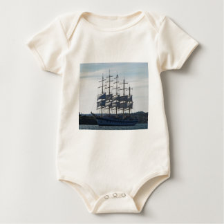 Royal Clipper Under Sail Baby Bodysuit