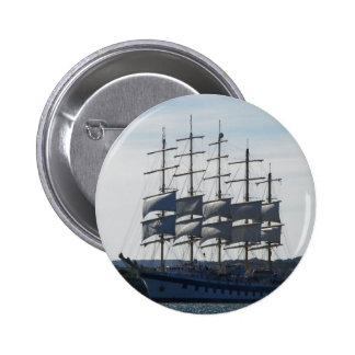 Royal Clipper Under Sail Pinback Buttons