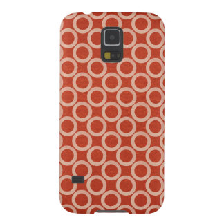 ROYAL Color Circles : Gold n Rich Red Energy Cases For Galaxy S5