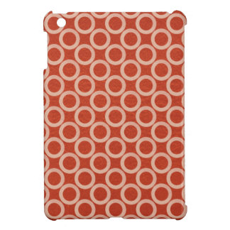 ROYAL Color Circles : Gold n Rich Red Energy iPad Mini Cover