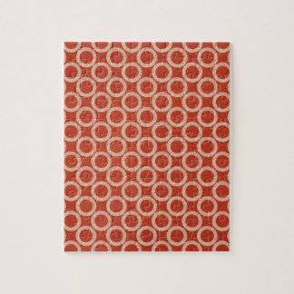 ROYAL Color Circles : Gold n Rich Red Energy Jigsaw Puzzle