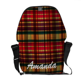 Royal colorful pattern courier bag