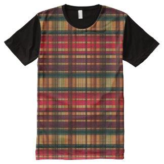 Royal colorful tartan pattern All-Over-Print shirt