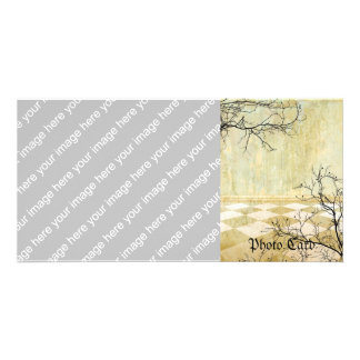 Royal Coordinates Background with Branches Card